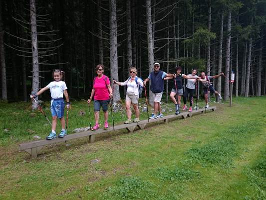 Nordic walking e Odaka Yoga
